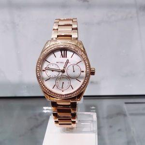 Michael Kors Janelle Multifunction Rose Gold Watch